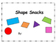 Snack Shapes Book