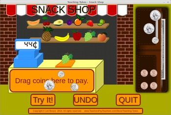 Counting Coins Interactive Game