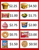 Snack Shopping - Dollars and Quarters