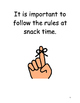 Snack Time Social Story