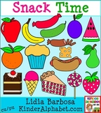 Snack Time in Color {Clip Art for Teachers}