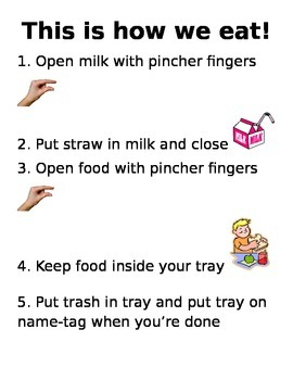 Snack/Lunch Directions