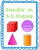 Snackin' on 3-D Shapes