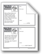 Snacks (Grade 2 Daily Word Problems-Week 10)
