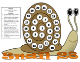 Snail 28 - A 2-Player Game of Strategy to Practice Logical Reasoning
