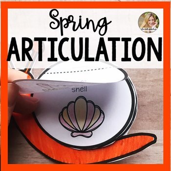 Snail Articulation Flip Books for Speech and Language | Spring Speech Therapy