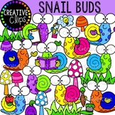 Snail Buds {Bug Clipart}