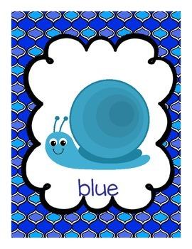Snail Color Posters