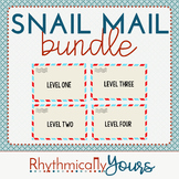 Snail Mail Bundle, Levels 1-4 ~ Interactive Powerpoint Game