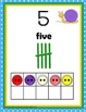 Numbers 1-20 - {Snail Pace Number Posters and Activity Cards}