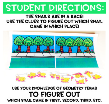 Snail Race Geometry Game