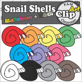 Snail Shells Clip Art