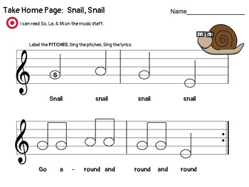 Snail, Snail: A Kodaly Song & Game to Facilitate Music Literacy