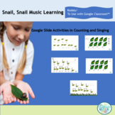 Snail, Snail Kodaly Activity for Use with Google Classroom