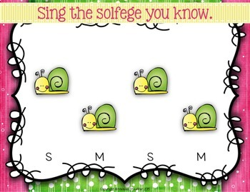 Snail Snail  {Ta TiTi} {La} Kodaly Method Folk Song File