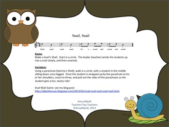 Snail, Snail: a Music Memory Game