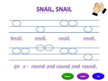 Snail, Snail (msl) - Notation Pack