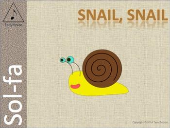 Snail, Snail (msl) - Sol-fa Pack
