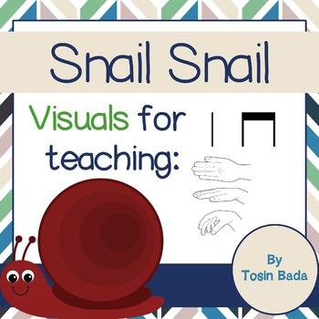 Snail, Snail {visuals, ta, tadi/titi, la}