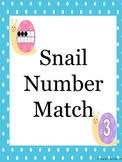 Snail Tens Frame Matching