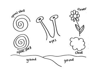 Snail Trail Art Project