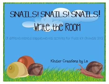 Snail Write the Room (Animals 2X2)