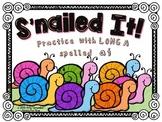 S'nailed It!  Practice with Long A spelled ai_