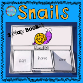 Snails Writing Flap Books, Fast Facts Printable and Label