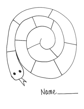 Snake Activity Worksheet!