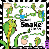 Snake Clip Art with Signs