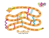 Snake Dash: Grade 3 Sight Words Reproducible Game
