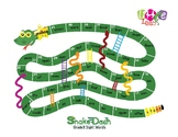 Snake Dash: Grade 1 Sight Words Reproducible Game
