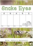 Snake Eyes - Maths Game (A4)