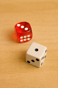 Snake Eyes on t he SAT - great way to teach students about probability
