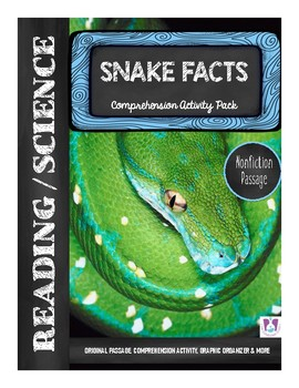 Snake Facts Nonfiction Comprehension Activity