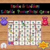 Snake & Ladders (Editable PowerPoint Game)