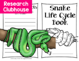 Snake Life Cycle Research Book