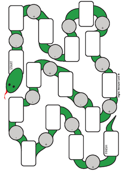 Snake Math Addition and Subtraction