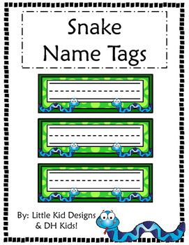 photo about Printable Name Tags identified as Snake Popularity Tags - Printable Standing Tags