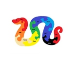 Snake Numeral Match Puzzle 1 to 10