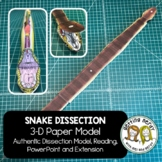Snake Paper Dissection - Scienstructable 3D Dissection Mod
