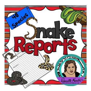 Snake Report Pages for Young Researchers!