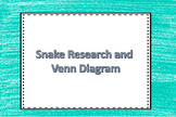 Snake Research Organizer and Venn Diagram