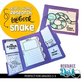 Snake Research Project - A Desert Animal Research Lapbook