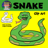 Snake Zoo Animals Clip Art