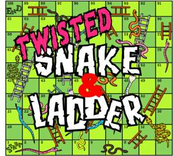 Snake and Ladder Board Game (TWISTED VERSION)