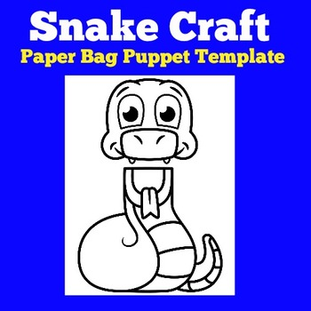 Snakes Craft | Snakes Science | Snakes Unit | Snakes Activ