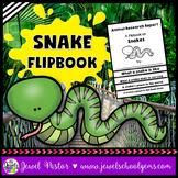 Snake Science Activities (Snake Research Flipbook)