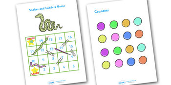 Snakes And Ladders 1-20