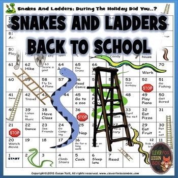 Snakes And Ladders: Back To School